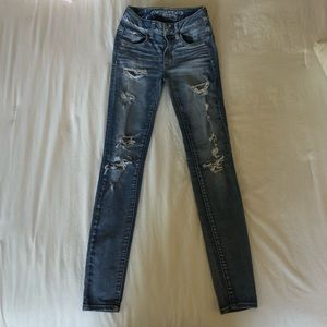 American Eagle Mid-Rise Jeggings